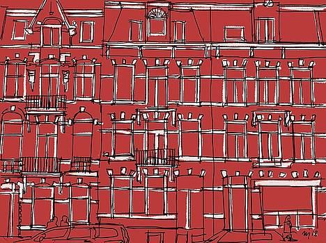 Texture of Amsterdam by Ugljesa Janjic
