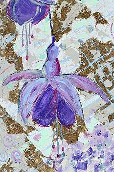 Textured Fuchsias by Tracey Lee Cassin