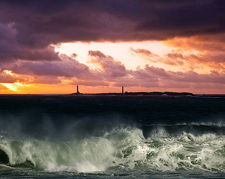 Thacher Island Morning by Dave Saltonstall