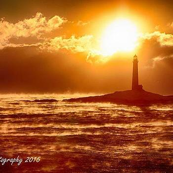 Thacher Island Twin #lighthouses Off Of by Jeff Foliage