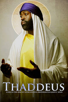 Disciple Thaddeus by Icons Of The Bible