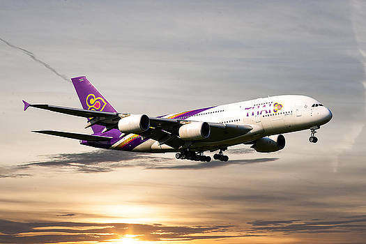 Thai Airlines by Nichola Denny