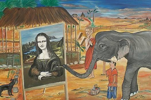 Thai Artist by Colin O neill