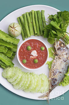Thai chili paste by Atiketta Sangasaeng