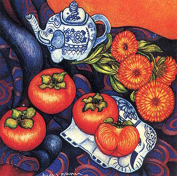 Richard Lee - Thai Elephants with Persimmons