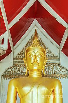 Sophie McAulay - Thai gold buddha statue