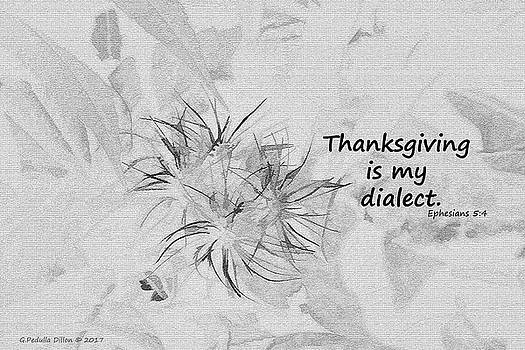 Thanks Giving by Grace Dillon