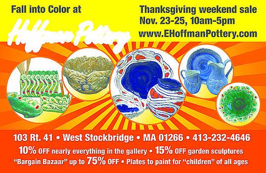 Thanksgiving weekend bazzaar by Elaine Hoffman