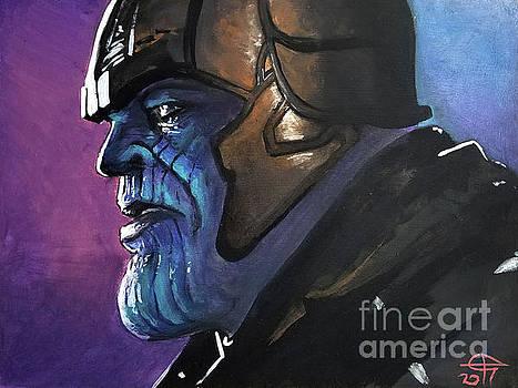 Thanos by Tom Carlton