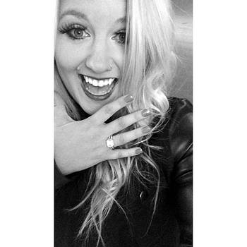 That Engagement Selfie. #stillinshock by Stephanie Brown
