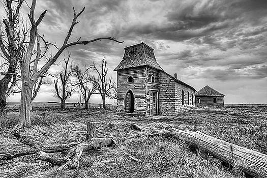 That Old Time Religion Black and White by JC Findley