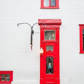That Red Door! #vsco #vscocam #vscogood by Shivendra Singh
