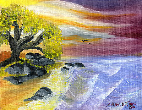 That Yellow Tree by the Sea by Maria Williams