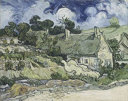 Thatched Cottages At Cordeville by Artistic Panda