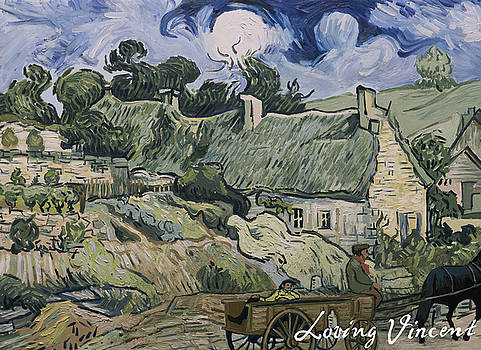 Thatched cottages in Jorgus by Carmen Belean