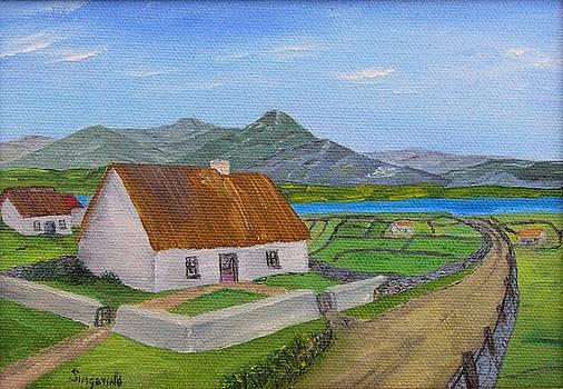 Thatched House 2 by Cary Singewald