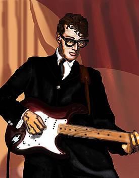 That'll Be The Day- Buddy Holly by David Fossaceca