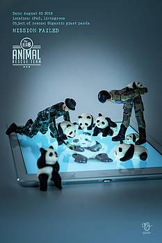 The 1-18 Animal Rescue Team - Pandas on iPad by Martine Carlsen