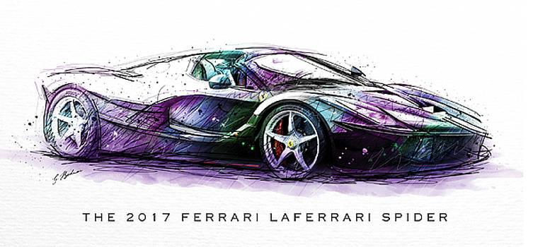 The 2017 Ferrari LaFerrari Spider by Gary Bodnar