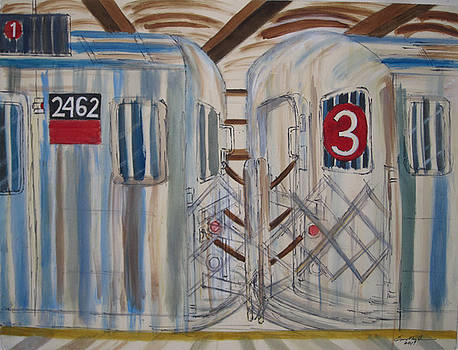 The 3 Train by Enrico Miguel Thomas