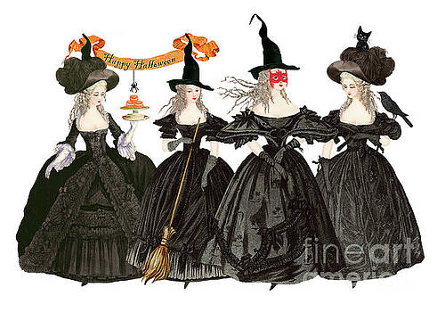 The 4 Witches by Wendy Paula Patterson