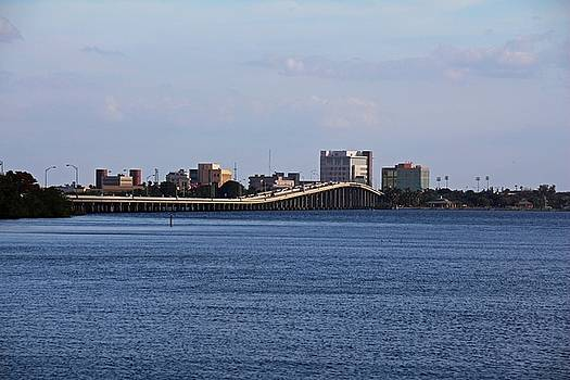The 41 Bridge Over the Caloosahatchee I by Michiale Schneider