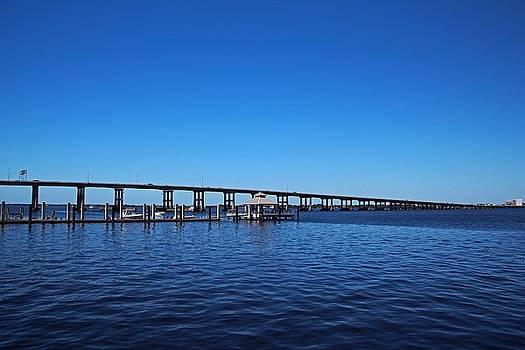 The 41 Bridge Over the Caloosahatchee II by Michiale Schneider