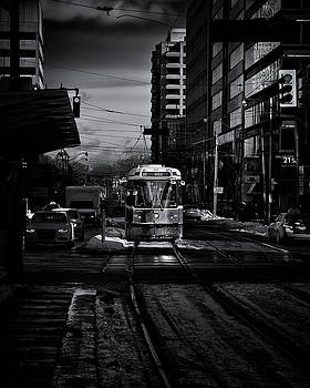 The 512 St.Clair Streetcar Toronto Canada by The Learning Curve Photography