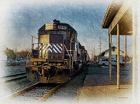 The 6540 Arriving In Harrington by Brian Wallace