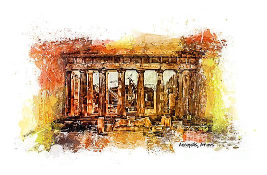 Justyna Jaszke JBJart - The Acropolis Of Athens