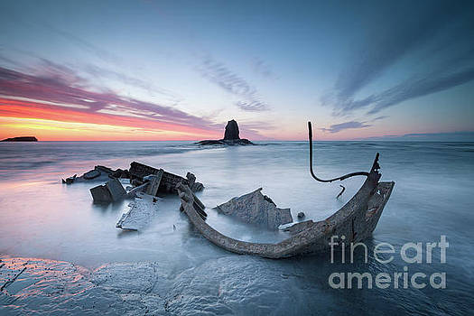 The Admiral, Saltwick Bay by Martin Williams