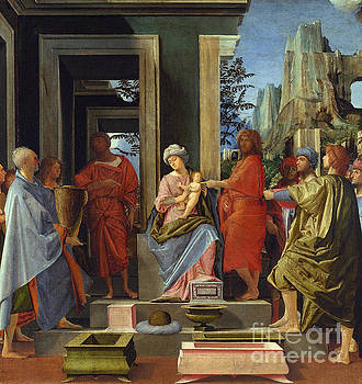 The Adoration of the Kings by Bartolommeo Suardi Bramantino
