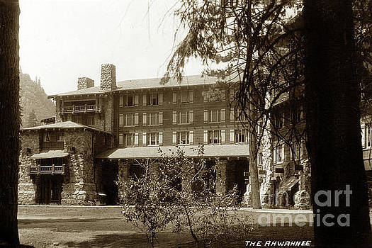 California Views Mr Pat Hathaway Archives - The Ahwahnee Hotel Yosemite National Park California circa 1930