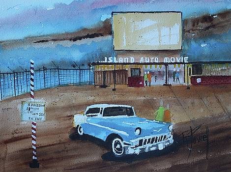The Alameda Drive In Movie by George Powell