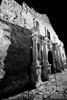 The Alamo at Night by Justin Bower