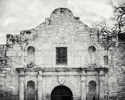 Lisa Russo - The Alamo in Black and White