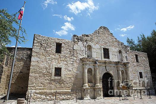 The Alamo Texas by Steven Frame