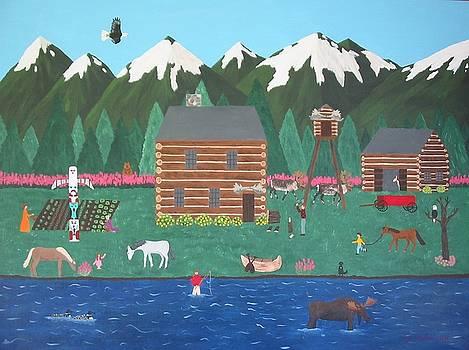 The Alaskan Homestead by Susan Houghton Debus