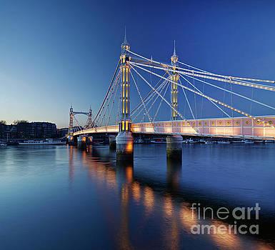 The Albert Bridge, London by David Bleeker