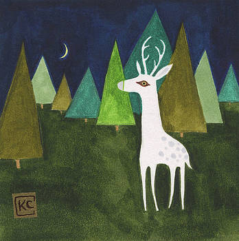 The Albino Deer by Kate Cosgrove