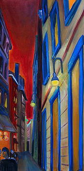 The Alley by Nathalie Fabri