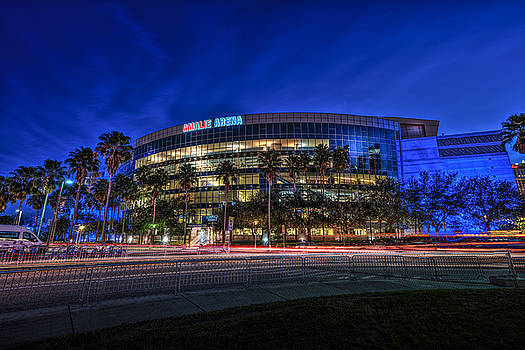 The Amalie Arena by Marvin Spates
