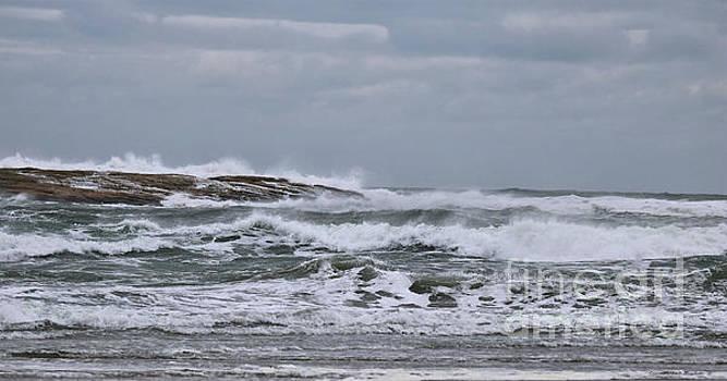 Sandra Huston - The Amazing Atlantic Ocean in March