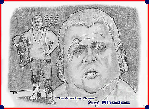 The American Dream Dusty Rhodes by Chris  DelVecchio
