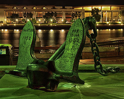 The Anchor Monument by Daryl Clark