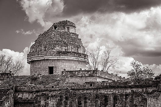 The Ancient Mayan Observatory in Chichen Itza by Daniela Constantinescu