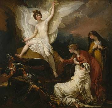 West Benjamin - The Angel Of The Lord Announcing The Resurrection 1805