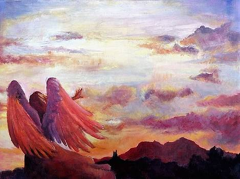 The Angels Paintbrush by Nicole Lane