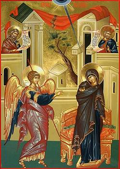 The Annunciation by Daniel Neculae