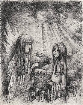 The Annunciation by Rachel Christine Nowicki